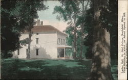 Ladies' Hall, St. Olaf College Postcard