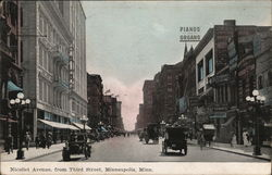 Nicollet Avenue, from Third Street