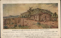 Roosevelt's Cabin on Ranch