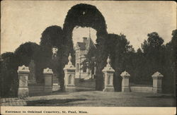 Entrance to Oakland Cemetery