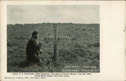Lieut. J.J. Crittenden Grave Marker