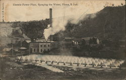 Electric Power Plant, Spraying the Water