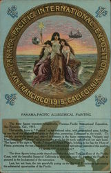 Panama-Pacific Allegorical Painting