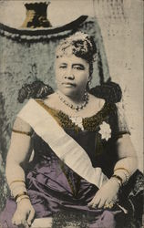 H.M. Queen Liliuokalani of Hawaiii
