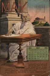 Continental Building & Loan Association, May Calendar