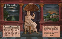 James A. Johnston, Furnishings, January Calendar