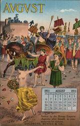 Goldberg, Bowen & Company, Grocers, August 1911 Calendar