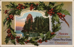 Merry Christmas and a Happy New Year from Rooster Rock Oregon