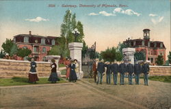 Gateway, University of Nevada Postcard