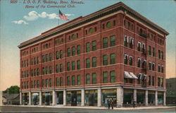 I.O.O.F. Building, Home of the Commercial Club