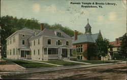 Masonic Temple & Brooks Library