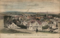 Historic Bennington, Settled 1761
