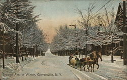 Second Ave. in Winter