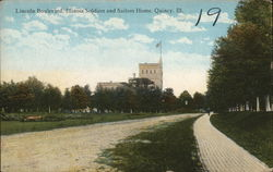 Lincoln Boulevard, Illinois Soldiers and Sailors Home