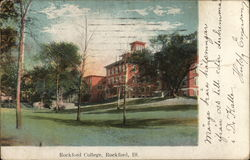 Rockford College Postcard