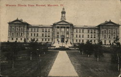 Western Illinois State Normal Postcard