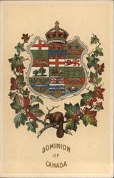 Dominion of Canada Seal Postcard