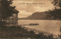 View of Lake St. Catherine