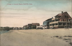 Cottages at Crescent Beach Postcard