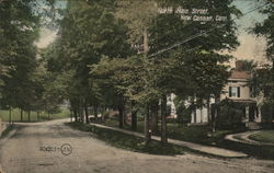 North Main Street Postcard