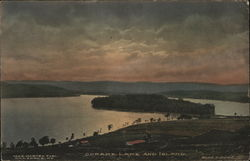 Copake Lake and Island