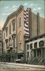 New Haven Theatre Postcard