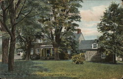 The Oldest House in Saugerties, Built 1727 Postcard