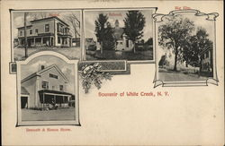 Souvenir of White Creek New York Postcard