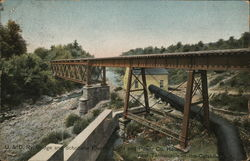 U&D Railway Bridge and Schoharie Electric Light and Power Co. House