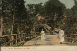 On the State Road Postcard
