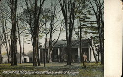 Schuyler Mansion-Headquarters of Burgoyne