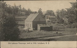 Old Lutheran Parsonage, Built in 1743