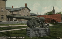 Site of Fort Stanwix Postcard