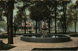 Fountain in Park, Sandy Hill
