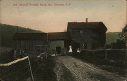 Old Toll-Gate, Franklin Road Postcard