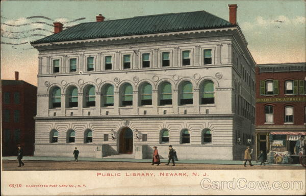 Public Library Newark New Jersey
