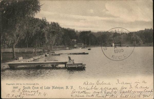 South Shore of Lake Mahopac