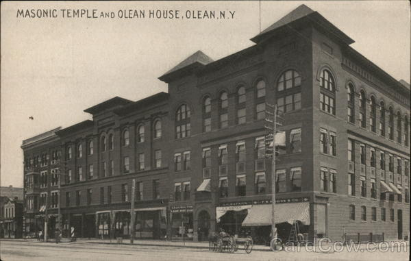 Masonic Temple and Olean House New York