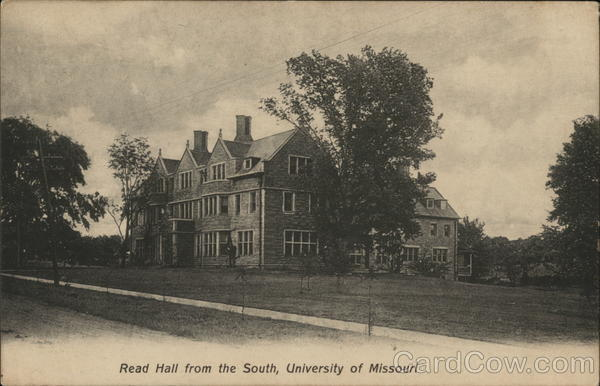 Read Hall from the South Columbia Missouri