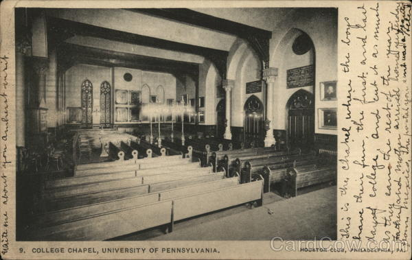 College Chapel, University of Pennsylvania Philadelphia
