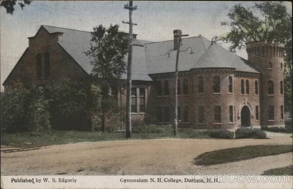 Gymnasium N.H. College Durham New Hampshire