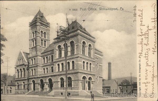 Post Office Williamsport Pennsylvania