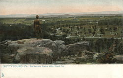 General Warren's Statue, Little Round Top
