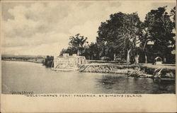 Oglethorpe's Fort Frederica