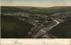 Mauch Chunk, on the Lehigh Valley Railroad