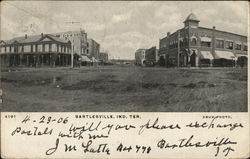 Bartlesville, Indian Territory