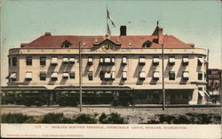 Spokane Electric Terminal, Interurban Depot