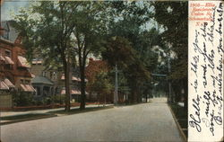 Ellis Residence, Union Square Postcard