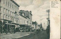 View of Hamilton Street, East from Lumber