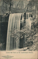 Laurel Mill Falls on the Cumberland Plateau